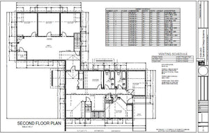 h261 Gambrel Cabin House Plans