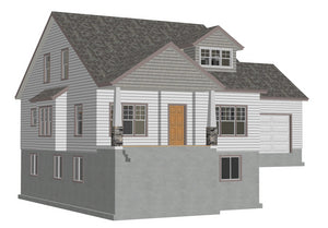 #h267 Cottage House Plans in PDF