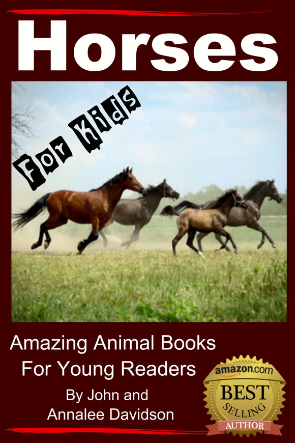 Horses For Kids-  Amazing Animal Books for Young Readers