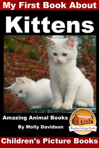 My First Book about the Kittens - Amazing Animal Books