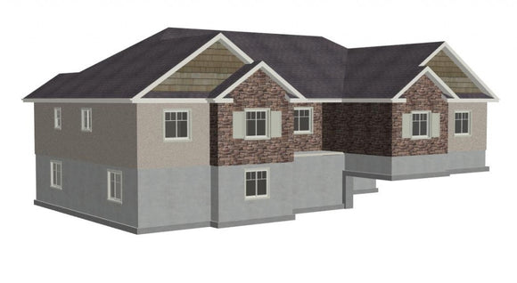 Plan #199 Classic Custom House Plans With Bonus Room