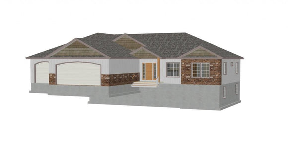 Plan #h194 Neilson Custom House Plans 1668 Sq Ft