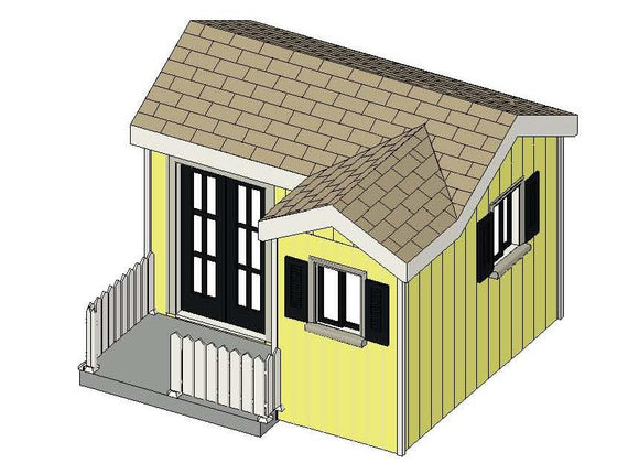 The Cottage Playhouse Plan