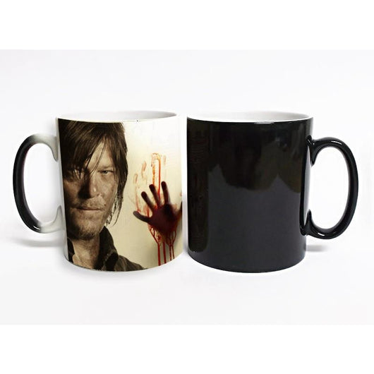 The Walking Dead Heat Activated Mug