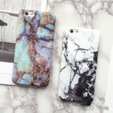 Marble Patterned Phone Case for iPhone