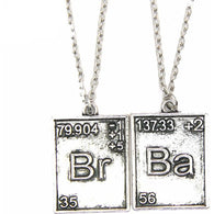 Breaking Bad Necklace- 2 Pieces - All The Fuss