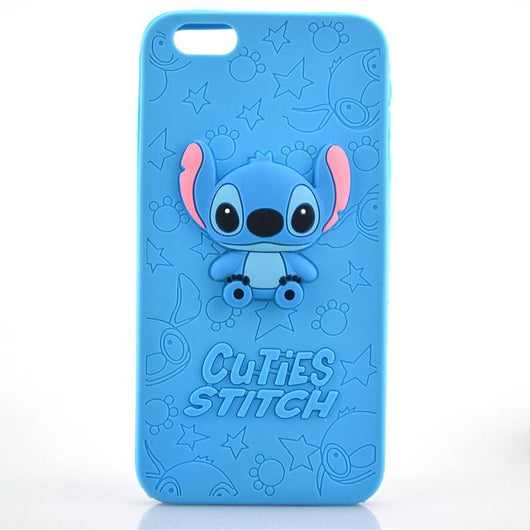 Cuties Stitch Soft Silicone Phone Case