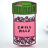 Chill Pills Soft Silicone Phone Case