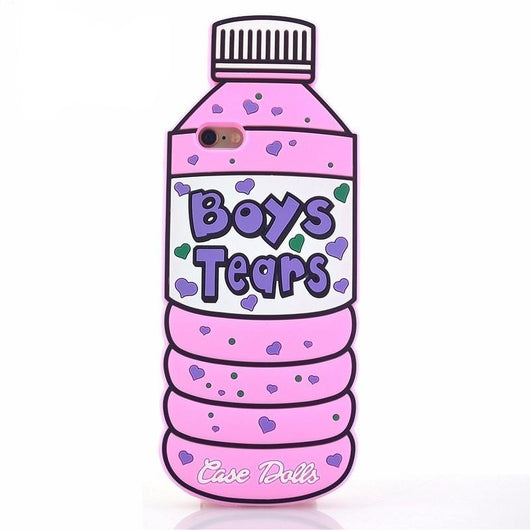 Boy's Tears Soft Silicone Phone Case