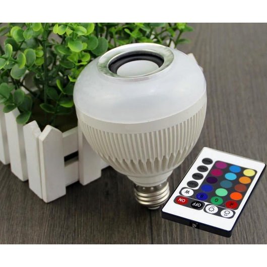 Bluetooth Speaker LED Bulb