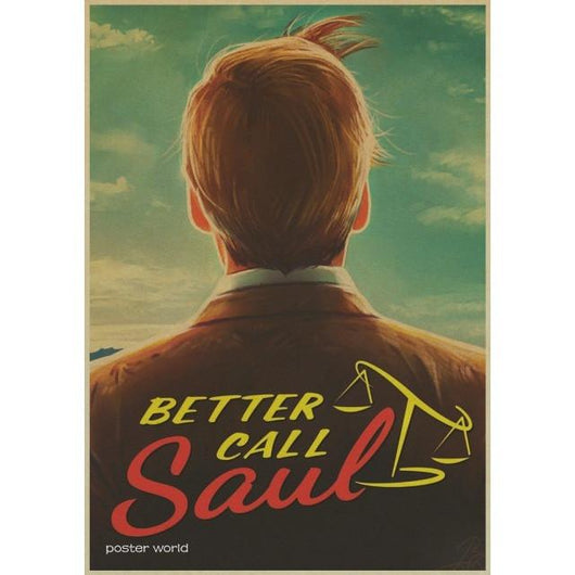 Better Call Saul Wall Stickers - All The Fuss