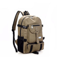 Outdoor Canvas Backpack - All The Fuss