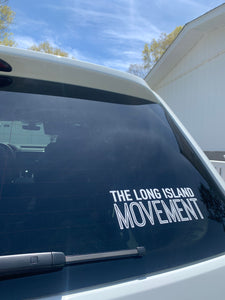 THE LONG ISLAND MOVEMENT . Decal
