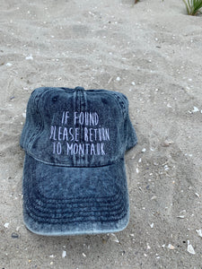 If Found . MTK hat