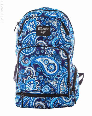 Blue Paisley - PEAK Collection Hydration Pack (2L) Backpack