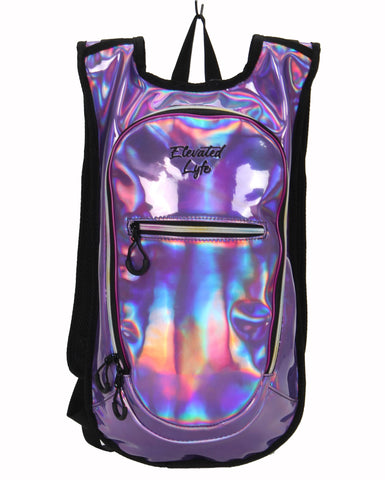 Purple Neo-Chrome - CLASSIC Collection Hydration Pack (2L) - Elevated Lyfe