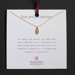 Dogeared Love and Protection Necklace