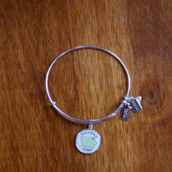 Wind & Fire Decorah, Iowa bracelet, Community • Nature • Charm
