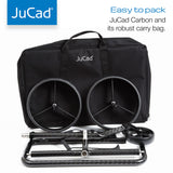 JuCad Carbon Manual Pushcart Trolley w/ Carry Bag (Pushcart Available in Various Colors)