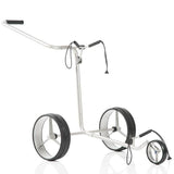 JuCad Edition Stainless Steel Manual Pushcart Trolley w/ Carry Bag