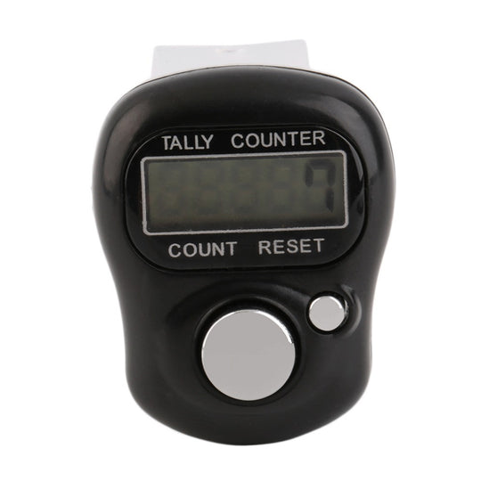 Hand Tally Counter - Black - Golf / Digital / LCD screen