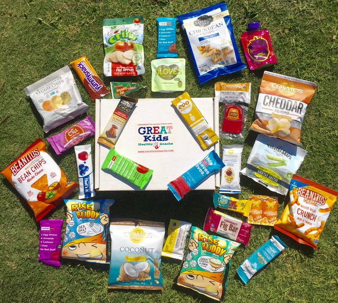 FREE Shipping - Organic & All Natural Healthy Snacks Delivered To Your Door