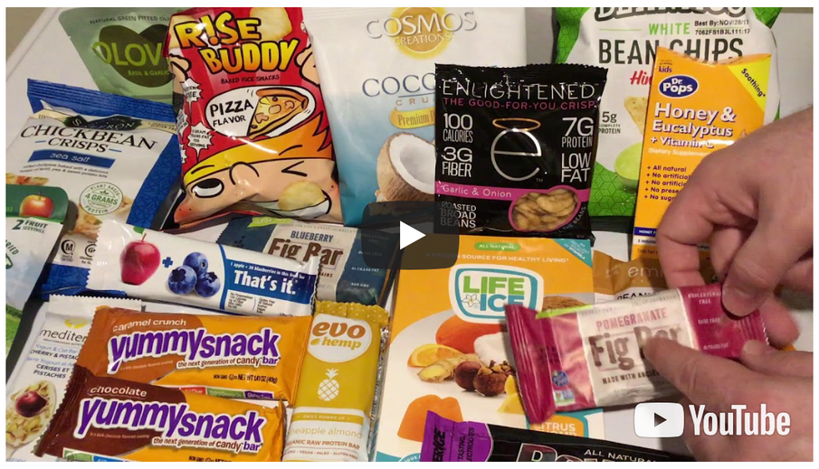 Video Unboxing of November Gluten Free GREAT Kids Snack Box!
