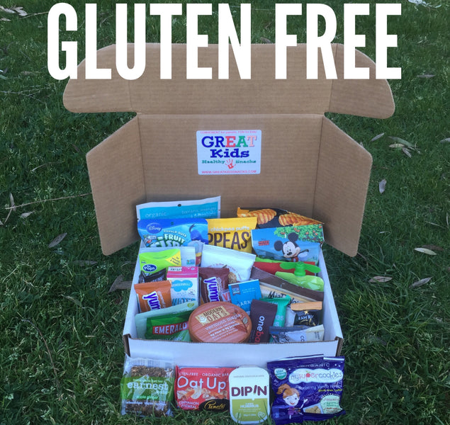 Gluten Free Snacking Made easy!