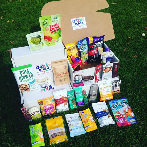 GREAT Kids Snack Box- Healthy subscription box