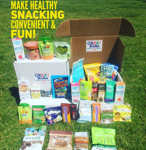 GREAT Kids Snack Box - Discover healthy, organic and all natural snacks in a monthly subscription box