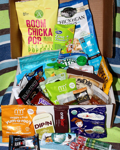GREAT Kids Snack Box - Healthy organic and all natural snacks with free shipping