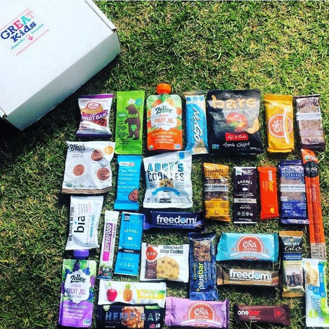 GREAT Kids Snack Box - Healthy organic and all natural snacks monthly subscription box