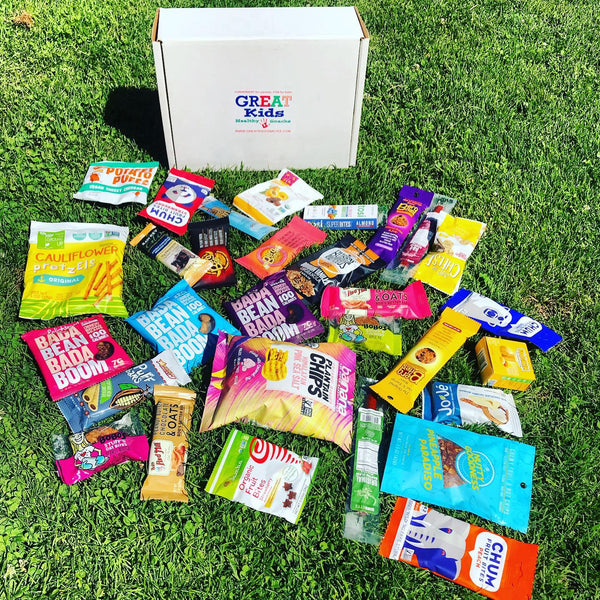 GREAT Kids Snack Box - Healthy Organic All Natural snacks monthly subscription