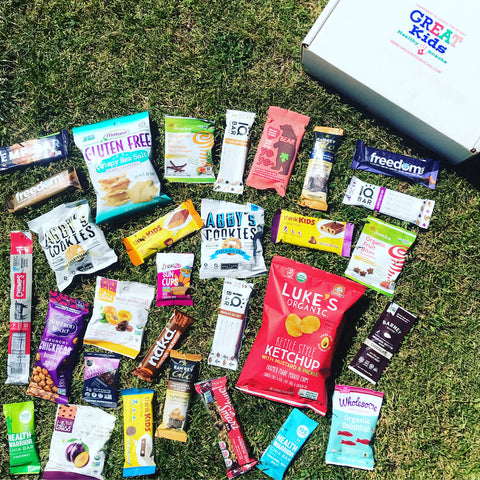 GREAT Kids Snack Box - Healthy Organic All Natural Monthly Subscription Box