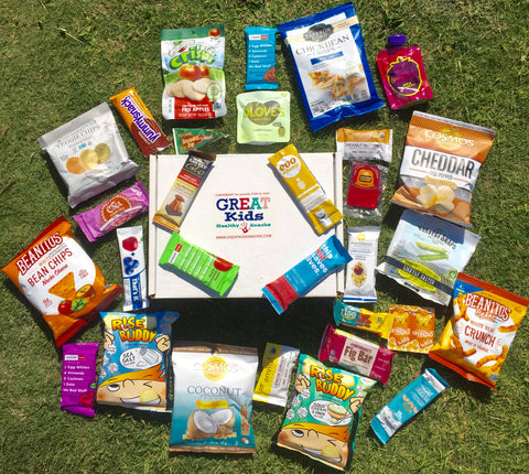 GREAT Kids Snack Box - Healthy Organic All Natural Snacks