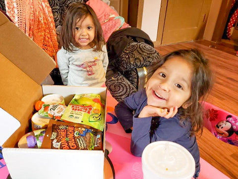 GREAT Kids Snack Box - happy snackers happy kids girls