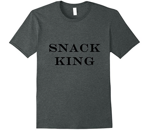 GREAT Kids Snacks - Snack King t-shirt