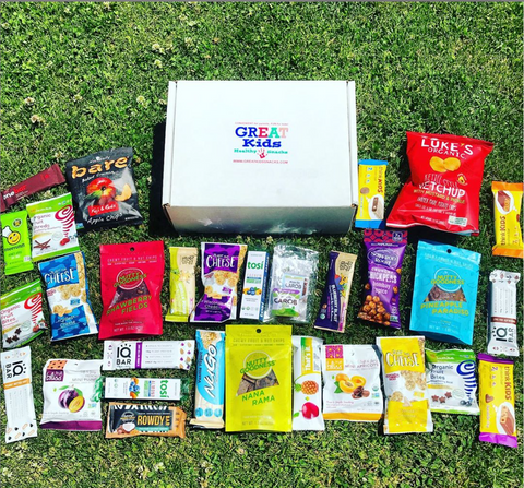 GREAT Kids Snack Box - Organic All Natural Healthy Subscription Box