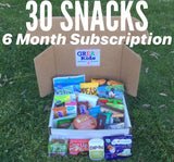 GREAT Kids Snack Box - 30 Snacks - 6 Month Subscription