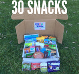 30 Snacks - Delivered Monthly