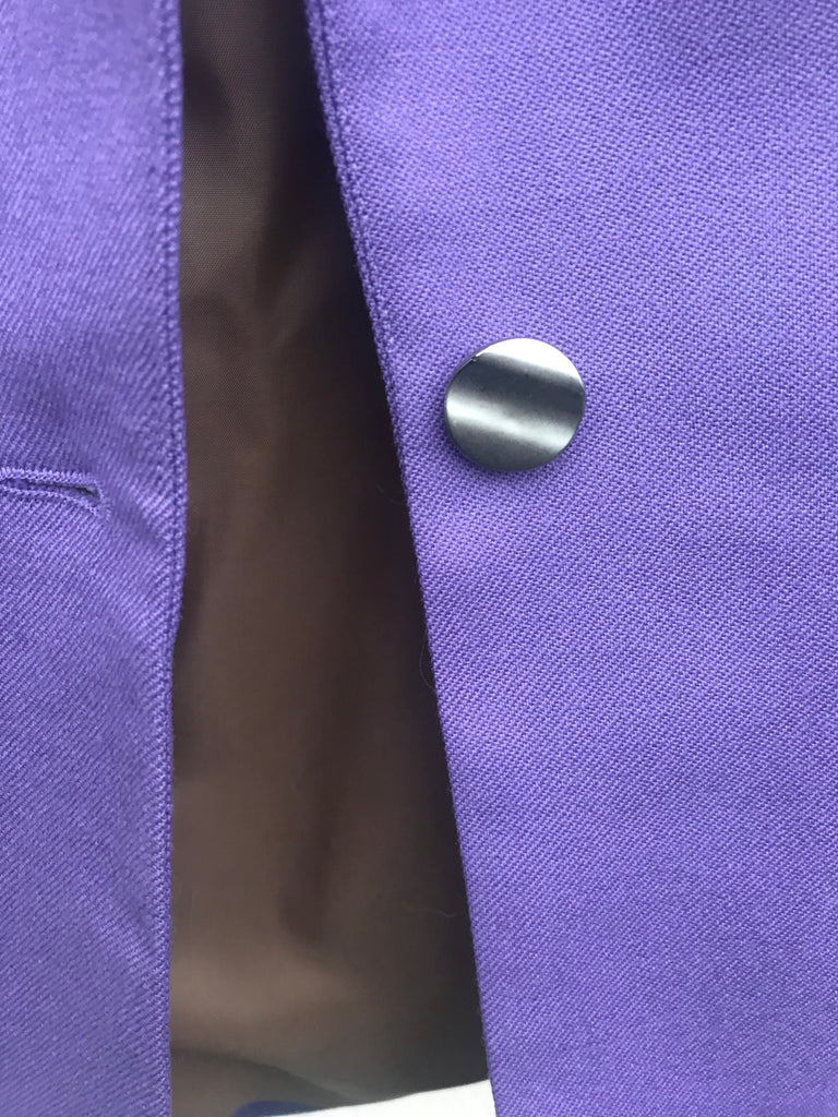 JACKET WOOL PURPLE