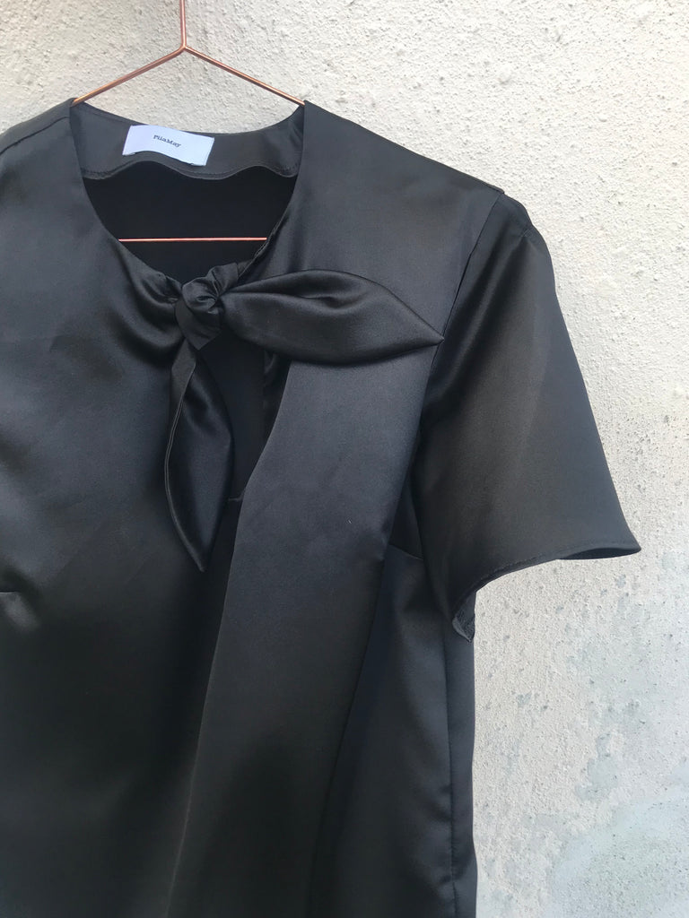 TOP SILK BLACK