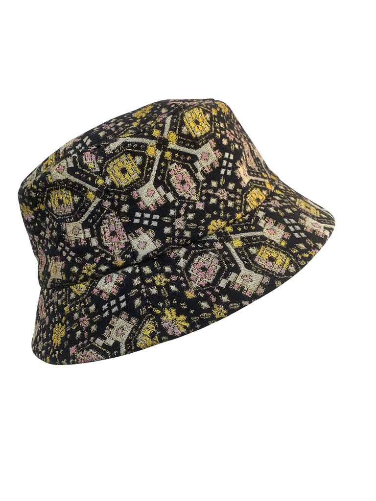 HAT BUCKET BROCADE