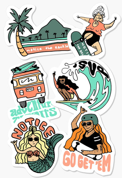 Summertime Sticker Pack