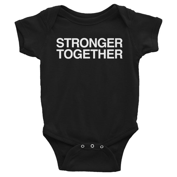 Baby Onesie: STRONGER TOGETHER
