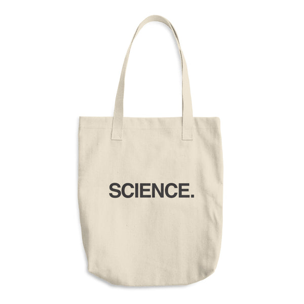 Organic Cotton Tote Bag: SCIENCE.
