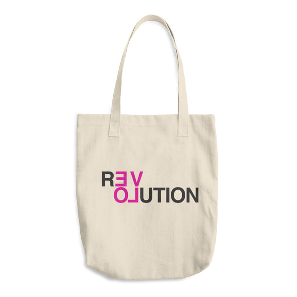 Organic Cotton Tote Bag: REVOLUTION