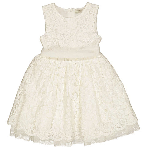 Flower Girl Dress Floral Lace