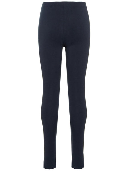 Name it Girls Solid Navy Organic Cotton Leggings BACK