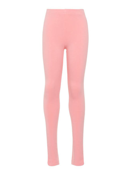 Name it Girls Solid Colour Organic Cotton Leggings